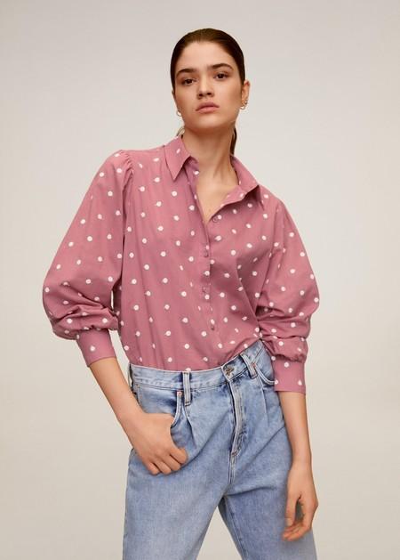 Camisa Algodon BordadaCamisa algodón bordada