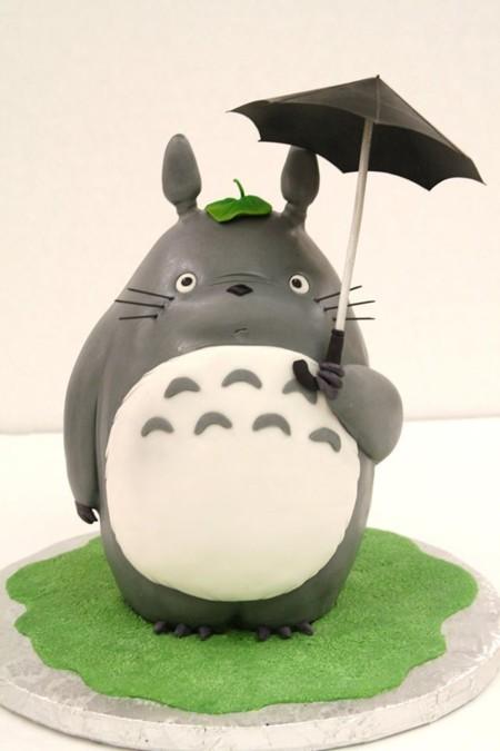 Totoro y su paraguas