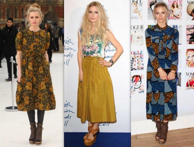 La Midi Skirt tiene a Laura Bailey como su mejor embajadora