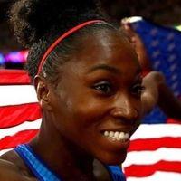 Medalla a la esperanza: una saltadora estadounidense gana el bronce en el Mundial tras huir de su marido maltratador