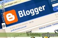 Tu fotoblog... con Blogger