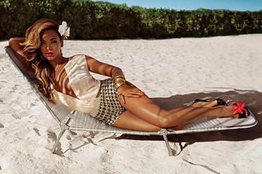 Solo a Beyoncé se le puede quedar el pelo enredado en un ventilador y seguir cantando