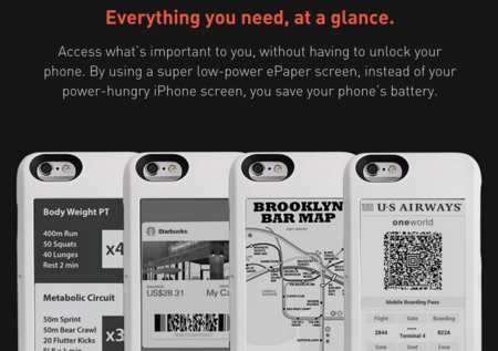 Agrega una segunda pantalla de tinta electrónica a tu iPhone con Popslate