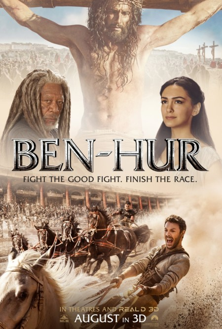 Cartel para cristianos de Ben-Hur