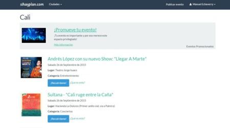Si Hay Plan es la Web colombiana que te tiene siempre algo para hacer en tu ciudad