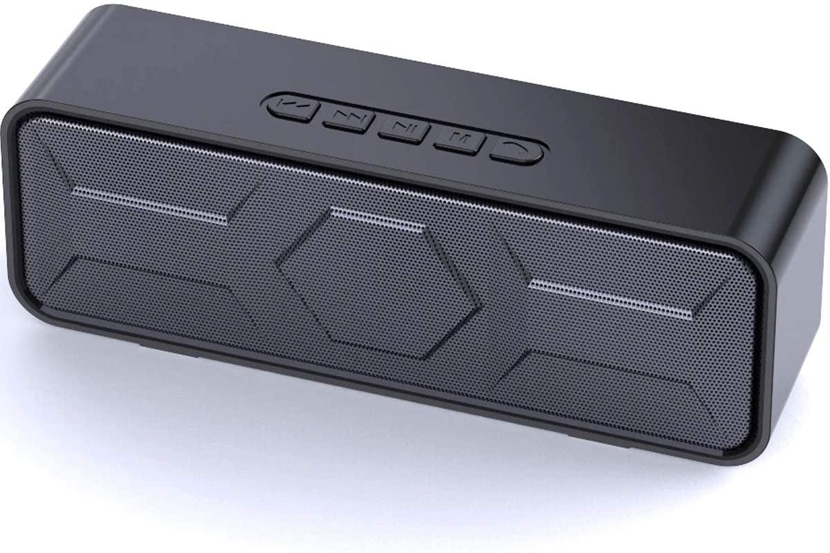 Bocina Bluetooth 5.0 (cupón de 50 pesos de descuento disponible)