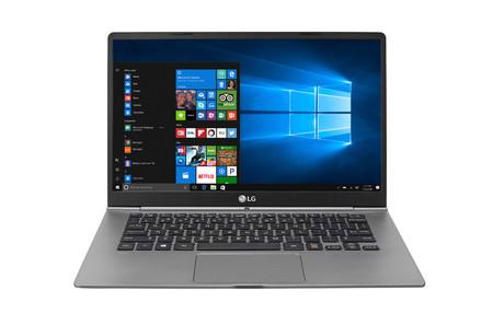 LG Gram 14, la nueva portátil de LG de menos de un kilogramo y 21 horas de autonomía