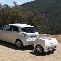 Este remolque para coches eléctricos es la solución que propone una firma francesa contra la ansiedad de autonomía
