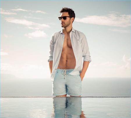 Noah Mills 2017 Pedro Del Hierro Spring Summer Campaign 005