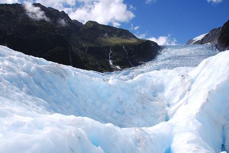 Los glaciares Franz Josef y Fox en Nueva Zelanda