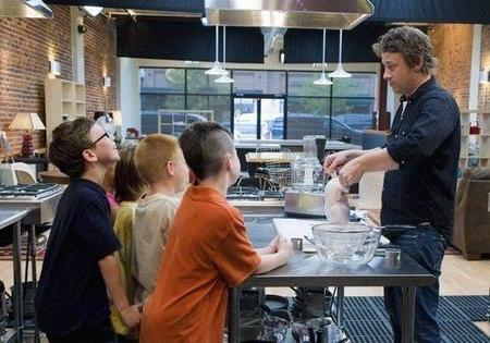'Jamie Oliver's Food Revolution', un heroico coach nutricional