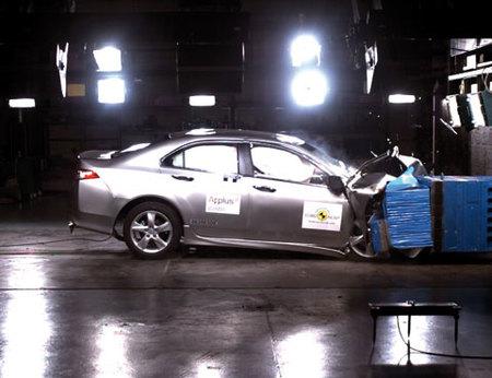 El Honda Accord consigue la mejor puntuación de su segmento en EuroNCAP