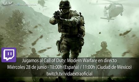 Jugamos en directo a COD: Modern Warfare Remastered a las 18h (las 11h en Ciudad de México) [Finalizado]