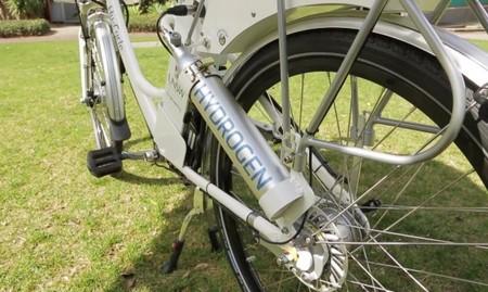 Hy-Cycle, otra bicicleta con pila de combustible de hidrógeno