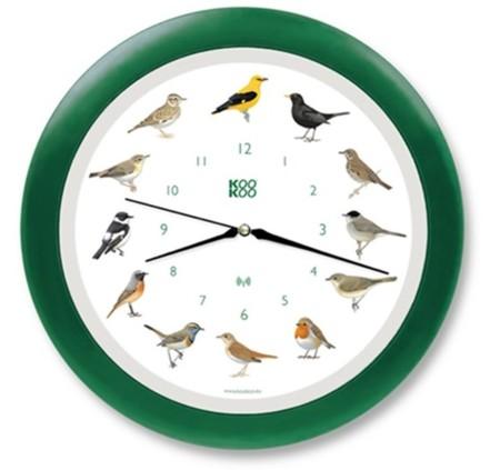 KooKoo: el reloj sonoro de los pájaros cantores
