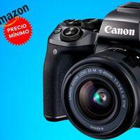 En Amazon tienes una sin espejo como la Canon EOS M5 superrebajada y a precio mínimo: por 492 euros lleva más de 350 de descuento