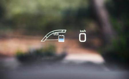 Head Up Display del Toyota Prius