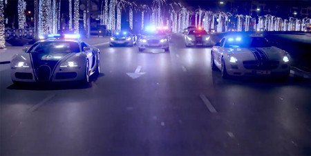 La policía de Dubái muestra su flota en un vídeo a lo 'Need for Speed: Hot Pursuit'