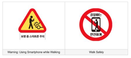 Señalización en Seúl