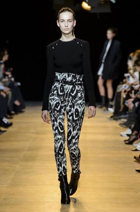 Isabel Marant Coleccion Otono Invierno 2015 2016 Semana Moda Paris (2)
