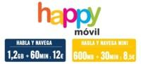 Happy Móvil renueva por completo su oferta prepago, nuevo bono de voz y datos incluido