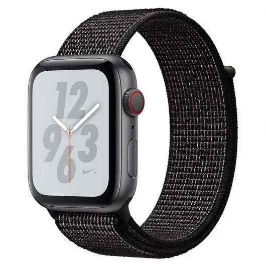 Apple Watch Nike+ Series 4 GPS + Cellular 40mm Aluminio Gris Espacial con Correa Loop Nike Negra