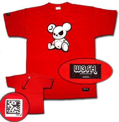 Camiseta Bad Bear y Semacode