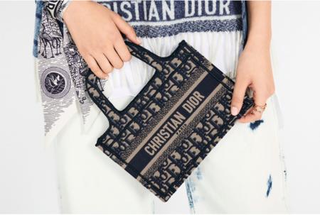 Mini book Tote de Dior es el bolso que arrasa entre las celebrities