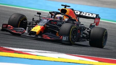 Max Verstappen cumple en casa de Red Bull, el Alpine de Fernando Alonso promete y Mercedes se tapa