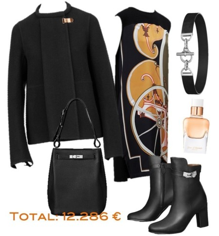 Outfit Black Card Hermes