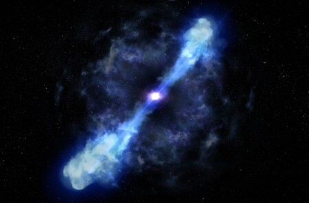 Estos astrónomos dicen haber presenciado por primera vez el nacimiento de un magnetar: la colisión de dos estrellas de neutrones