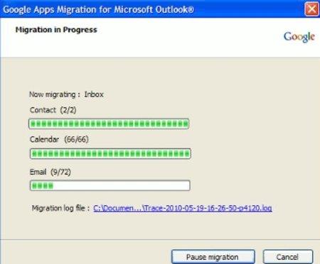 Google ofrece herramientas de migración de correo de Outlook a Gmail