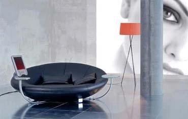 Sofá multimedia de lujo
