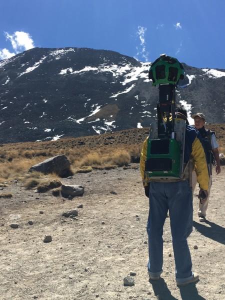 Google Street View Nevado Toluca