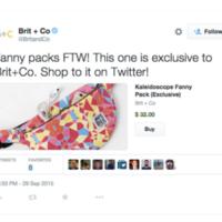 Botones de compra: Twitter activa su plan para e-commerce (y para mejorar sus ingresos)
