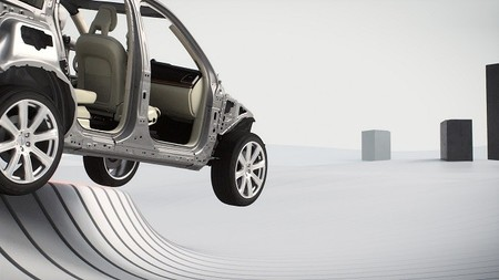 Volvo XC90 - salidas de vía