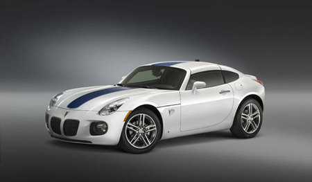 Pontiac Solstice GXP Coupe Racing Heritage