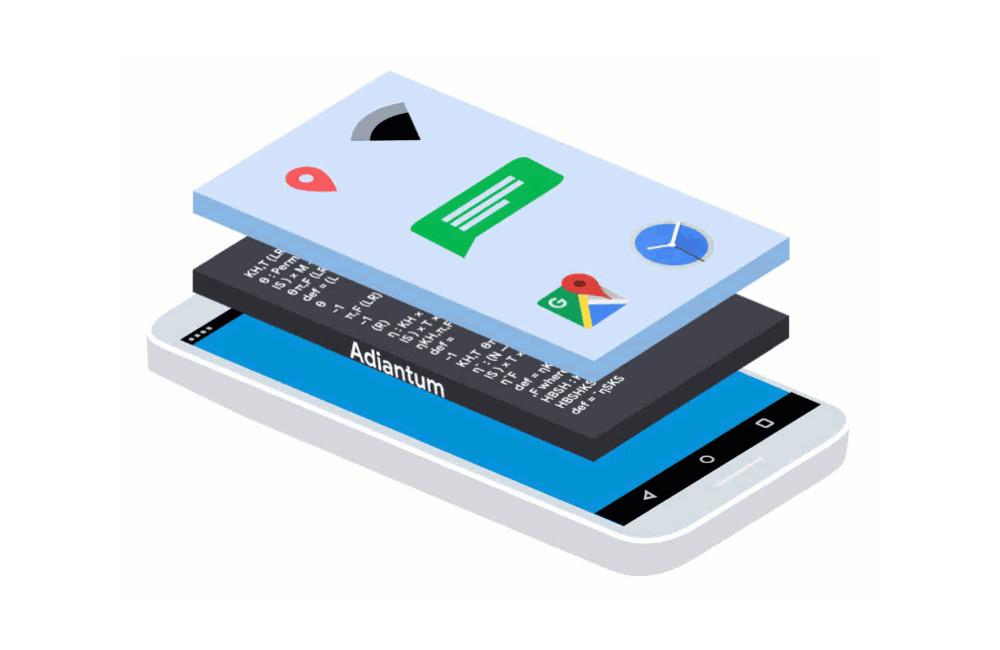 Google Adiantum es el mas reciente cifrado que hará mas seguros los dispositivos Android-OS carencia potentes