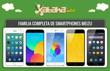 La familia Meizu al completo: estos son todos sus teléfonos