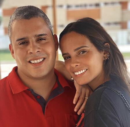 José Fernando con Gloria Camila
