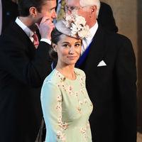 Boda del príncipe Harry y Meghan Markle: Pippa Middleton apuesta por un sobrio (e ideal) moño bajo