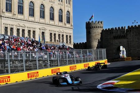 George Russell Baku F1 2019