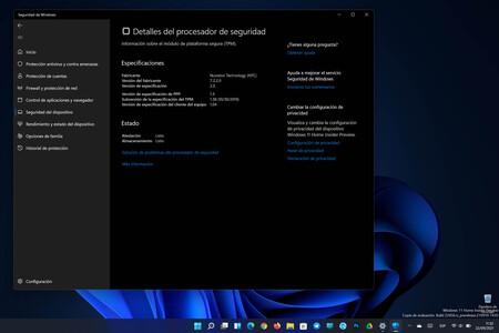 Cómo activar el chip TPM de tu equipo para poder actualizar a Windows 11 a partir del 5 de octubre