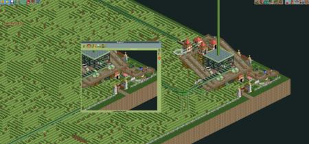 Un jugador de Rollercoaster Tycoon 2 ha diseñado un laberinto tan inmenso que a un NPC le ha costado 263 años atraversarlo