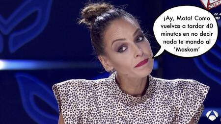 """""""¡La madre que la parió!"""" Eva González podría sustituir (perfectamente) a José Mota en futuros programas de 'Mask Singer'"""