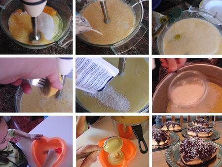 Bizcocho de nata y aceite de oliva