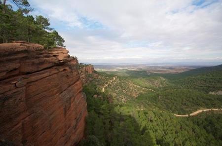 El paisaje protegido de los Pinares de Rodeno en Albarracín