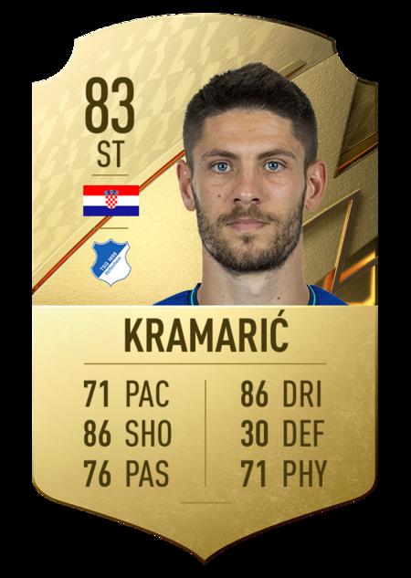Kramaric mejores jugadores bundesliga fifa 22