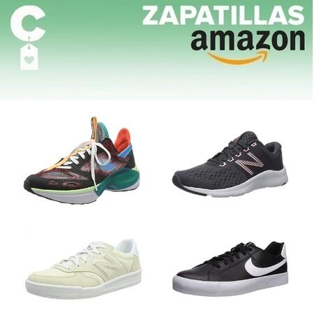 Chollos en tallas sueltas de  zapatillas Nike y New Balance en Amazon