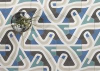 El mosaico hidráulico hexagonal de ATLAS, arte en cemento para tus suelos